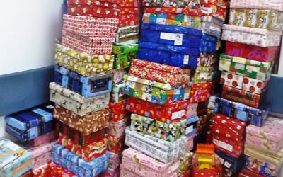 ShoeBox 2014 a strâns 259 cutii cu cadouri