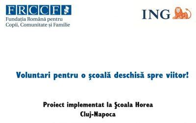 Grant ING Bank, în valoare de 10.000 de Euro, castigat de FRCCF
