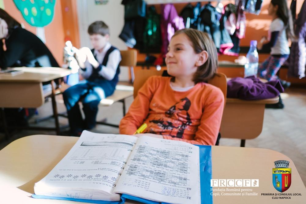 Prevenirea abandonului şcolar prin servicii integrate pentru copiii defavorizaţi din Cluj-Napoca 2016