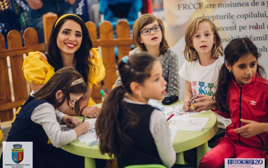 """""""Spune NU abandonului şcolar!"""" – proiect implementat de FRCCF cu sprijinul Primăriei şi Consiliului Local Cluj-Napoca"""